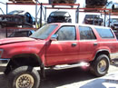 1992 TOYOTA 4RUNNER SR5 MODEL 3.0L V6 MT 4X4 COLOR RED Z14747