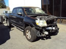 2008 TOYOTA TACOMA DOUBLE CAB SR5 PRE-RUNNER MODEL 4.0L V6 AT 2WD COLOR BLACK Z14753