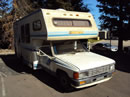 1985 TOYOTA PICK UP MOBILE HOME REGULAR CAB DLX MODEL 2.4L EFI AT 2WD COLOR WHITE Z13541