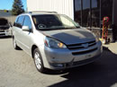 2005 TOYOTA SIENNA 5 DOOR XLE LIMITED MODEL 3.3L V6 AT FWD COLOR SILVER Z14788