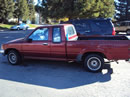 1991 TOYOTA PICK UP TRUCK XTRA CAB DELUXE MODEL 2.4L EFI AT 2WD COLOR RED Z13576