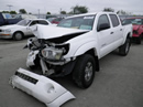 2005 TOYOTA TACOMA 4 DOOR CREW CAB TRD SR5 4.0L AT 4X4 COLOR WHITE  STK Z12252