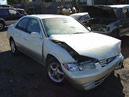 1999 TOYOTA CAMRY 4 CYL, AUTO TRANS, COLOR: WHITE, 87K LOW MILES, STK: Z-09036