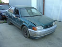 TOYOTA TERCEL ENGINE: 1.5L AUTOMATIC, COLOR: TEAL STK:Z09029