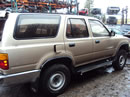 1995 TOYOTA 4RUNNER SR5, 3.0L 5SPEED 4WD, COLOR GOLD, STK Z14823