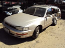 TOYOTA CAMRY WAGON, 4CYL. AUTOMATIC TRANSMISSION, COLOR GOLD, STK # Z10102