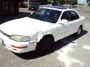1992 TOYOTA CAMRY , 4CYL, AUTOMATIC TRANSMISSION , COLOR WHITE, STK # Z10103