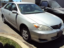 2002 TOYOTA CAMRY , 4CYL , AUTOMATIC TRANSMISSION, COLOR-SILVER STK# Z10106