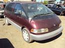 1991 TOYOTA PREVIA 2X4 4CYL ENGINE, AUTOMATIC TRANSMISSION STK# Z10129