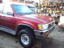 1992 TOYOTA 4RUNNER SR5, 3.0L 5SPEED 4WD, COLOR RED, STK Z15854