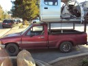 1994 TOYOTA PICK-UP, 2.4L AUTO, COLOR RED, STK Z15858