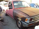 1989 TOYOTA PICK-UP 2WD, 2.4L AUTO, COLOR RED, STK Z15859