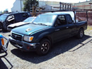 2000 TOYOTA TACOMA 2WD, 2.4L ENGINE, MANUAL TRANSMISSION, COLOR GREEN, STK # T11334