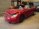 2007 TOYOTA CAMRY LE, 2.4 L ENGINE, AUTOMATIC TRANSMISSION, COLOR-RED, STK # Z11170