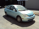 2003 TOYOTA PRIUS 4 DOOR SEDAN, 1.5L ,COLOR GREEN , STK # Z11172