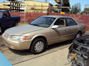 1998 TOYOTA CAMRY 2.2L ENGINE, AUTOMATIC TRANSMISSION, COLOR GOLD , STK # Z11174