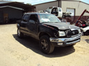 2001 TOYOTA TACOMA 4 DOOR 3.4L AT 2WD COLOR BLACK STK# T11336