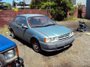 1994 TOYOTA TERCEL STNDRD MODEL ,2 DOOR 1.5L ENGINE, MANUAL TRANSMISSON 4 SPEED, COLOR GREEN, STK #Z11178