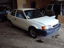 1996 TOYOTA TERCEL ,1.5L ENGINE, MANUAL 4 SPEED ,COLOR WHITE, STK # Z11182