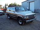 1989 TOYOTA LAND CRUISER 4WD, 4.0L, AT, COLOR TAN, STK# T11338