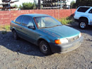 1996 TOYOTA TERCEL 2 DOOR, 1.5L, AT,COLOR GREEN, STK# Z11189