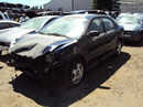 2003 TOYOTA COROLLA S MODEL, COLOR BLACK, STK # Z11198