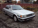 1987 TOYOTA CRESSIDA 4 DOOR SEDAN,2.8L AT FWD COLOR SILVER STK # Z11204