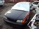 1996 TOYOTA TERCEL 4 DOOR SEDAN 1.5L  AT COLOR RED STK # Z11210