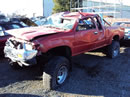 1992 TOYOTA PICK UP SR5 XTRA CAB 3.0L MT 4X4 COLOR RED STK Z12221