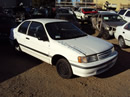 1992 TOYOTA TERCEL 2 DOOR DX MODEL 1.5L AT 3SPD FWD COLOR WHITE STK Z12225