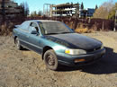 1996 TOYOTA CAMRY 4 DOOR SEDAN LE MODEL 2.2L AT FWD COLOR GREEN STK Z12226