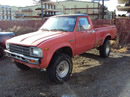 1982 TOYOTA PICK UP REGULAR CAB 2.4L CARBURETOR MT 4X4 COLOR RED STK Z12229