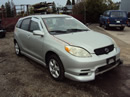 2003 TOYOTA MATRIX XR MODEL 1.8L AT FWD COLOR SILVER STK Z12239
