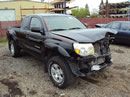 2005 TOYOTA TACOMA WITH ACCESS CAB PRE RUNNER 4.0L AT 2WD COLOR BLACK STK Z12241