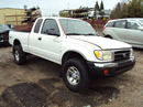 2000 TOYOTA TACOMA XTRA CAB PRE RUNNER 3.4L AT 2WD COLOR WHITE STK Z12242