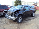 2004 TOYOTA TACOMA SR5 MODEL XTRA CAB 3.4L MT 4X4 COLOR BLACK STK Z12246