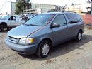 1999 TOYOTA SIENNA VAN LE MODEL 3.0L V6 AT FWD COLOR GREEN STK Z12247