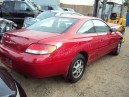 1999 TOYOTA SOLARA, 2.2L FED AUTO, COLOR RED, STK Z15900
