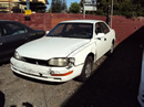 1992 TOYOTA CAMRY 4 DOOR SEDAN 2.2L AT COLOR WHITE STK Z12259