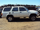 1995 TOYOTA 4RUNNER 3.0L AT 4X4 COLOR WHITE STK Z12262