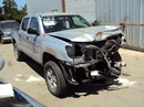 2007 TOYOTA TACOMA 4 DOOR 4.0L AT 4X4 COLOR SILVER STK Z12265