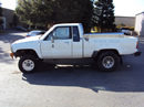 1986 TOYOTA TRUCK XTRA CAB 2.4L EFI MT 4X4  COLOR WHITE STK Z12268