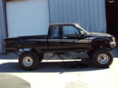 1991 TOYOTA PICK UP XTRA CAB 3.4L MT 4X4 (CHANGEOVER) COLOR BLACK STK Z12269