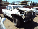 2007 TOYOTA TACOMA 4DOOR SR5 PRE RUNNER 4.0L AT 2WD COLOR WHITE STK Z12270