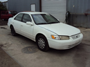 1999 TOYOTA CAMRY LE MODEL 4 DOOR SEDAN 2.2L AT FWD CALIFORNIA EMISSIONS COLOR WHITE STK Z12271