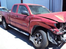 TOYOTA TACOMA TRUCK COLOR-RED STK # Z12289