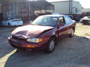 1995 TOYOTA CAMRY 4 DOOR SEDAN LE MODEL 2.2L AT COLOR RED STK Z12302