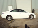 2011 TOYOTA CAMRY 4 DOOR SEDAN LE MODEL 2.5L AT COLOR WHITE STK Z12314