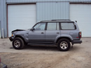 1996 TOYOTA LAND CRUISER SUV STD MDL 4.5L AT AWD COLOR GRAY STK Z12319