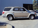 2002 TOYOTA SEQUOIA SUV SR5 MODEL 4.7L V8 AT 2WD COLOR GOLD STK Z12323